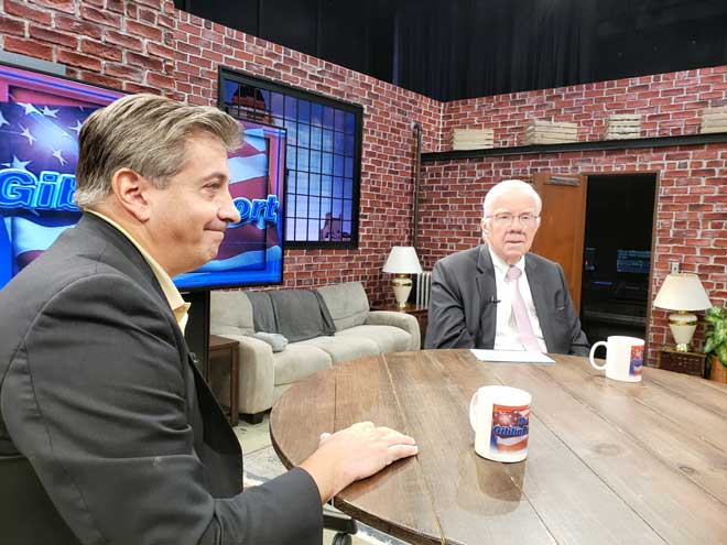 Parisi is featured guest on 'The Giblin Report'