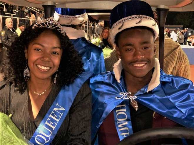 West Orange High School crowns Homecoming king and queen