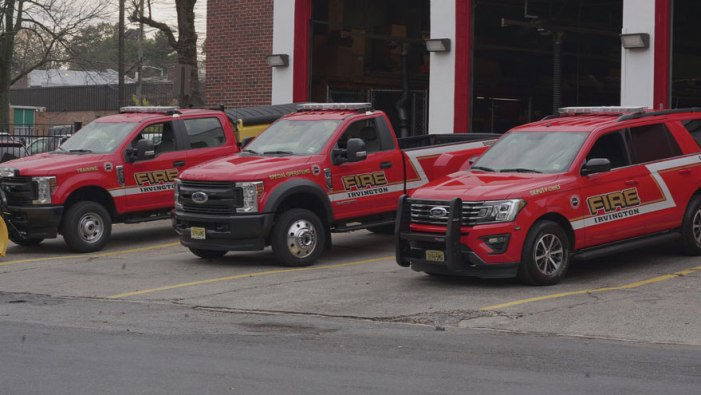 Irvington Fire Department receives new fleet of vehicles
