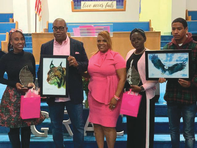 Council president one of two honored for Women's Day