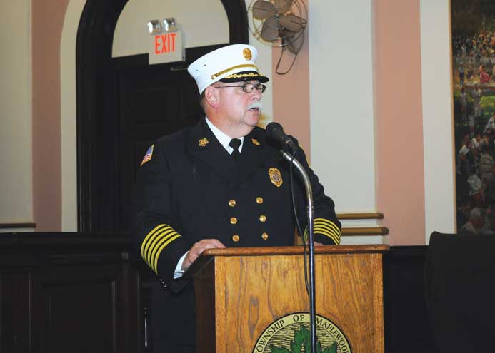 Dingelstedt hangs up helmet after 38 years with MFD