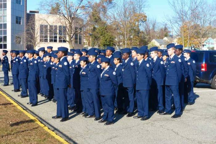 WOHS Air Force JROTC celebrates cadet milestones