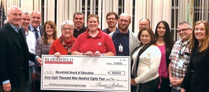 Educational Foundation donates $68,984 to Board of Ed