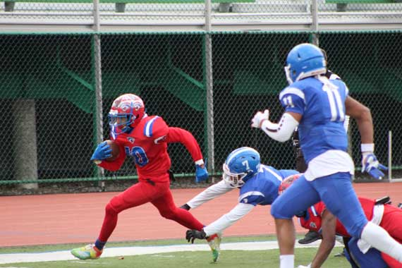 CORRECTED: East Orange Campus HS football team defeats Barringer on Thanksgiving to cap 9-2 banner season