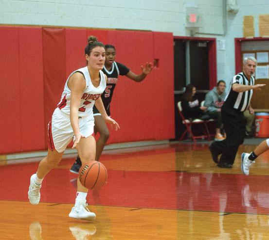 Glen Ridge HS girls basketball team tops Payne Tech, Belleville