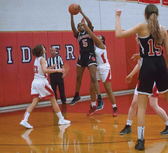 Columbia HS girls basketball team defeats Glen Ridge in season opener