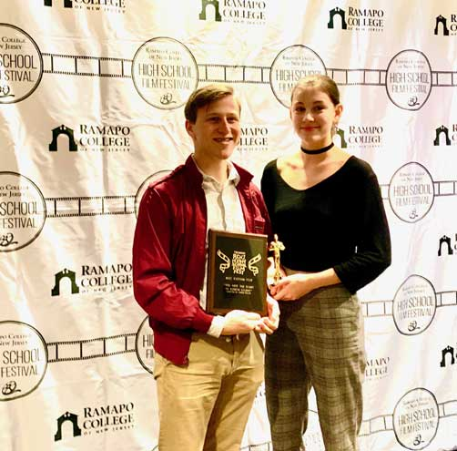 CHS student wins Best Fiction Film Award at festival