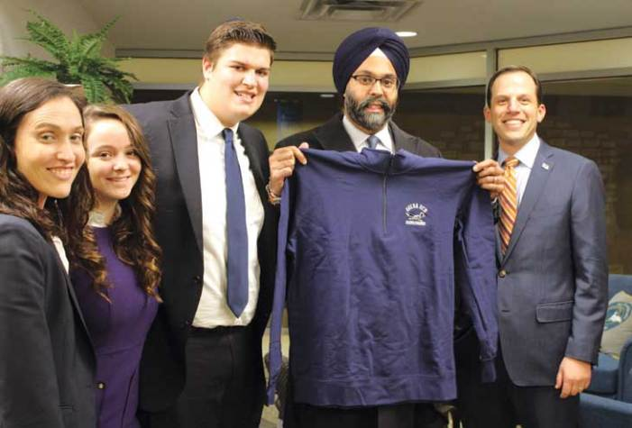 Grewal visits GOA and discusses career path, hate crimes