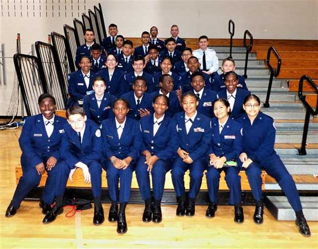 West Orange High School AFJROTC hosts tri-state drill competition