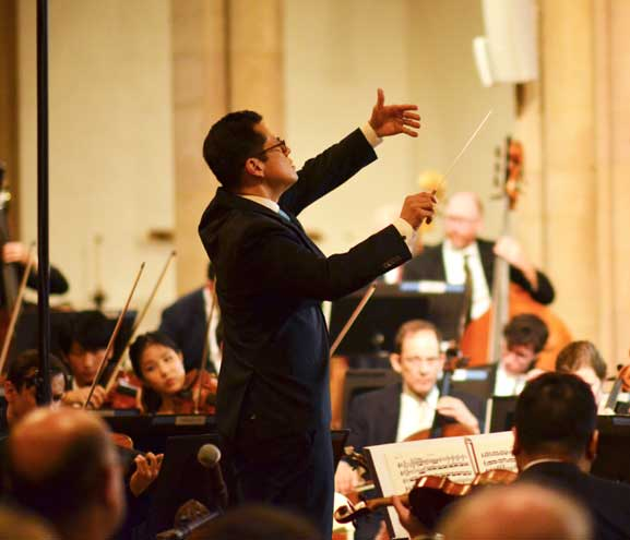 Chan to continue as Montclair Orchestra director for 7 more years
