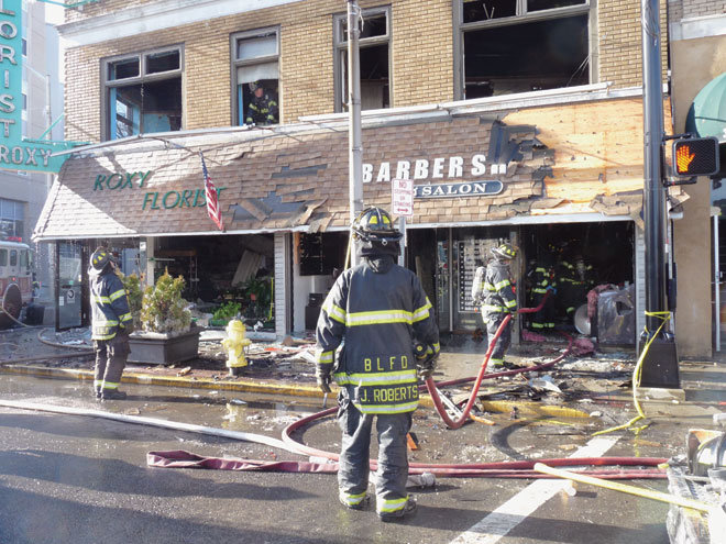 Flames engulf Roxy Florist and eight other businesses