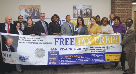 Free tax preparation to be provided for East Orange residents