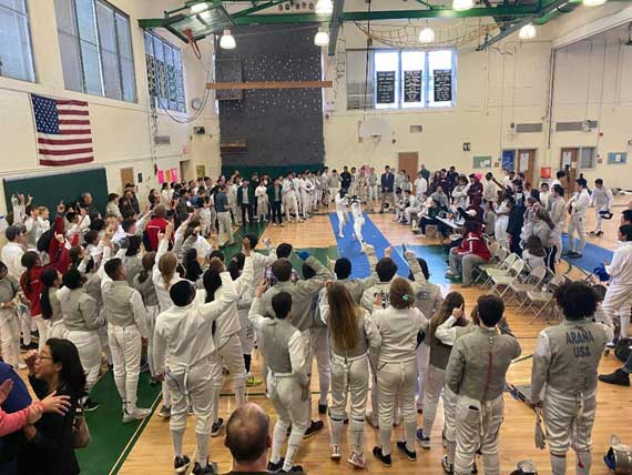 Columbia HS fencers sweep season opener; excel at Morris Knolls Freshman/Sophomore Invitational