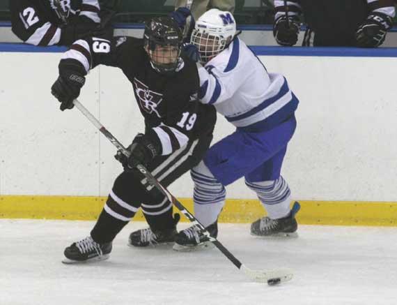 Verona/Glen Ridge HS ice hockey team surges