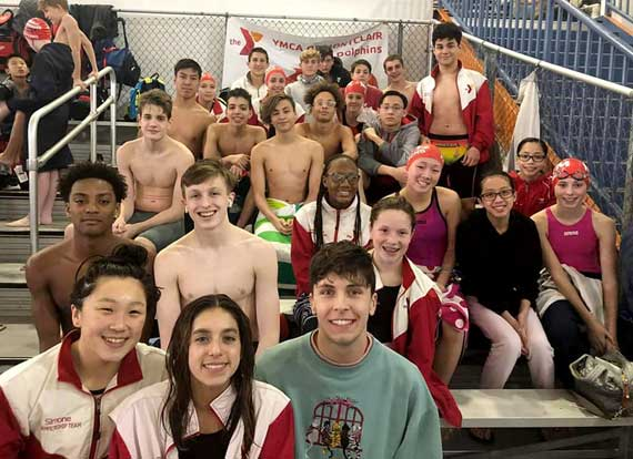 Montclair YMCA Dolphins swim team makes waves at championship meets