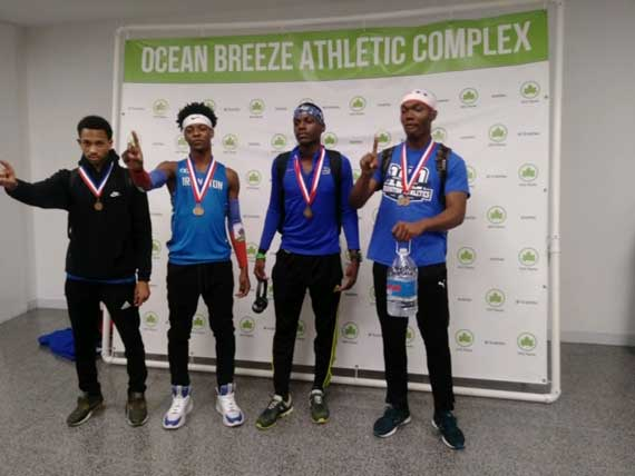 Irvington HS boys shuttle hurdles team runs No. 1 time in nation at Essex County Relays