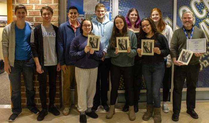 Golda Och Academy's literary magazine wins first place