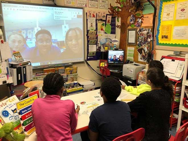 Washington and WOHS school newspapers plan future collaboration
