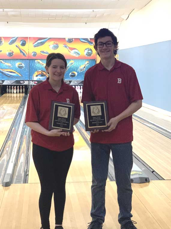 UPDATED: Bloomfield HS boys bowler Bryan Fuscarino takes 2nd place at Essex County Individual tourney; Shannon Broadfoot has good run on the girls' side