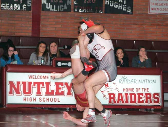 Nutley Athlete of the Month: Pete Haverick, wrestling
