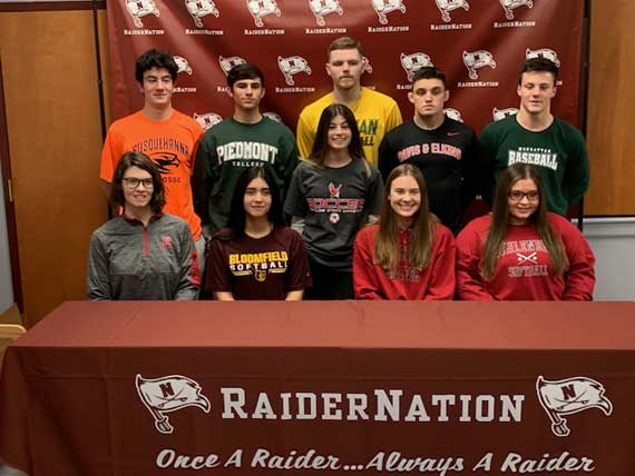 UPDATED No. 7: Nutley HS student-athletes announce college choices
