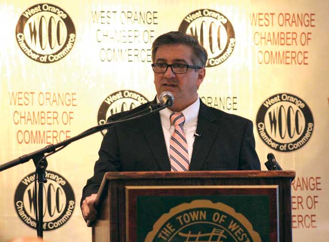 Parisi gives State of the Town