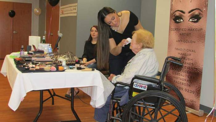 Makeovers for Daughters of Israel residents