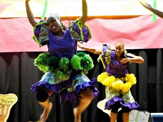 Hazel students 'Feel the Beat' at annual celebration
