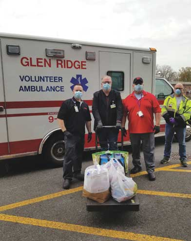 Community makes care packages for health care workers