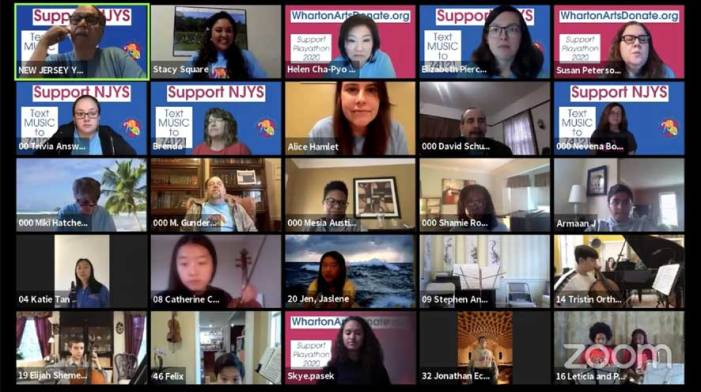 New Jersey Youth Symphony hosts first-ever virtual Playathon