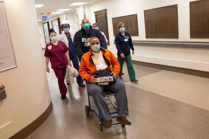 Newark police officer back home after pulmonary embolism