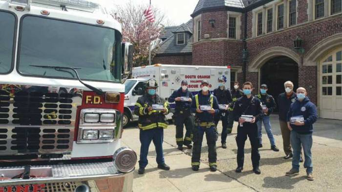 SO firefighters share donated PPE with neighboring towns