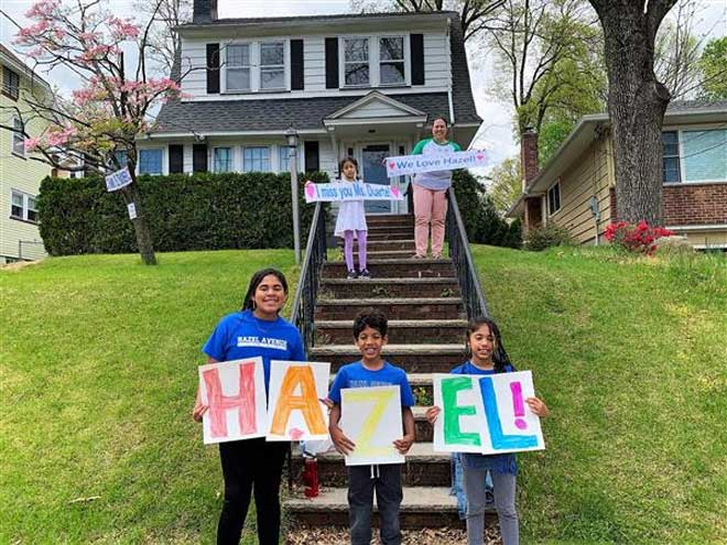 Hazel community shows love at community parade
