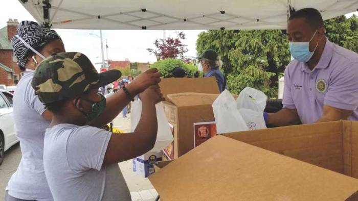 EO continues to offer COVID-19 emergency food relief