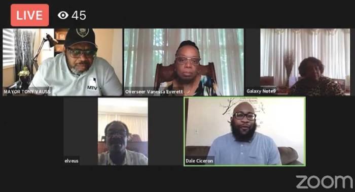 Faith leaders discuss George Floyd's death with mayor
