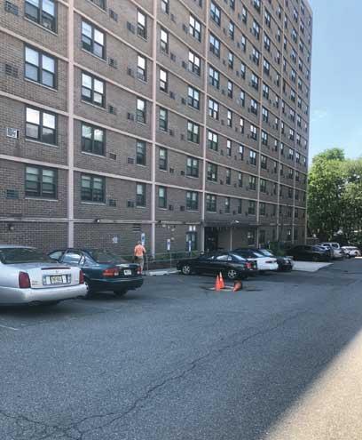 East Orange woman makes accusations against senior apartment complex