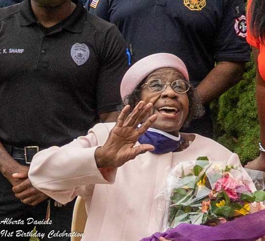 East Orange celebrates community pillar's 91st birthday