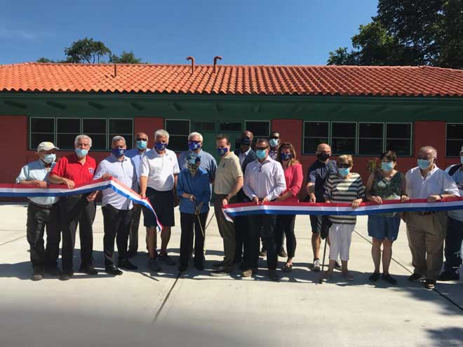 Restoration of Essex County Riverbank Park Community Center is complete