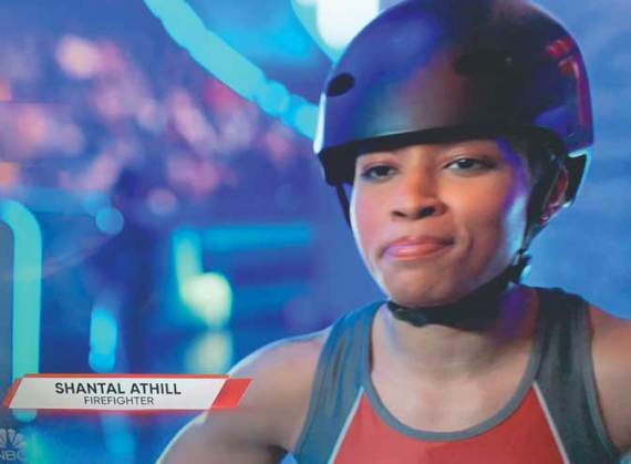 Orange firefighter competes for women's Titan title in NBC's 'The Titan Games'