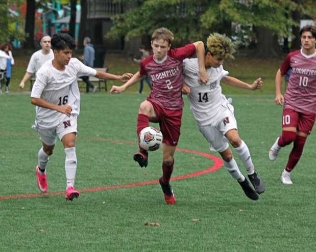 Nutley beats Bloomfield boys soccer team 2-1