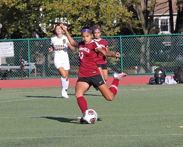 Bloomfield girls soccer team dominates Cedar Grove