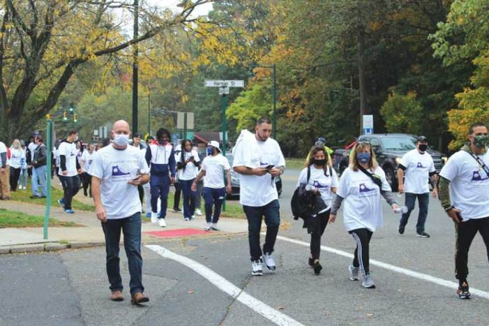 GRPD participates in walk for opioid recovery