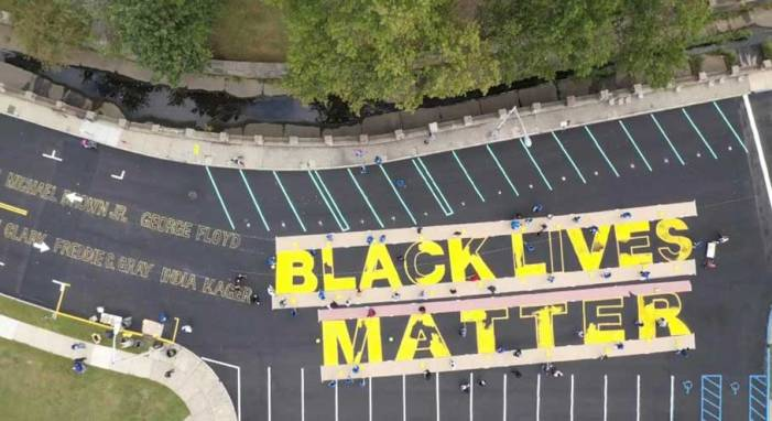 Irvington holds Black Lives Matter ceremony and mural unveiling