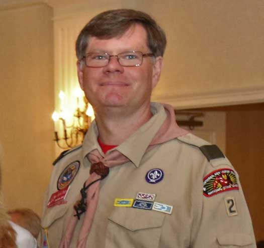 WO Scout leader inducted into Camp Glen Gray Hall of Fame