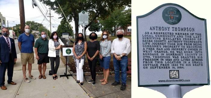 West Orange installs marker to remember Thompson