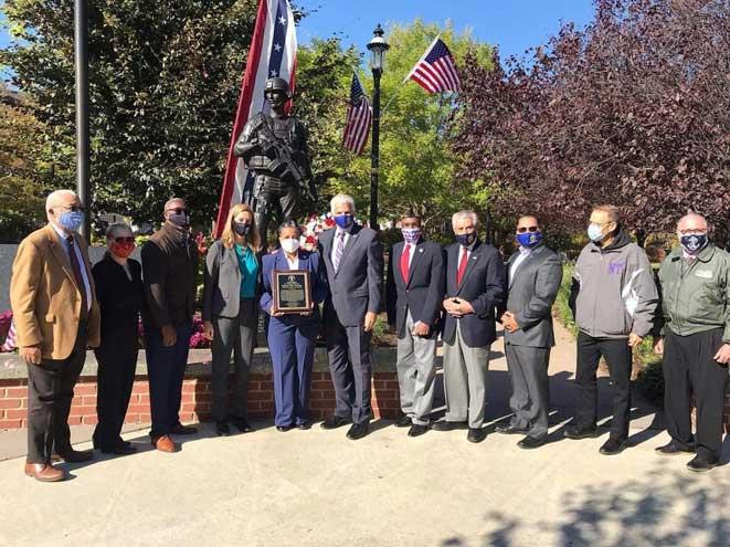 Irvington veteran receives EC Community Star Award