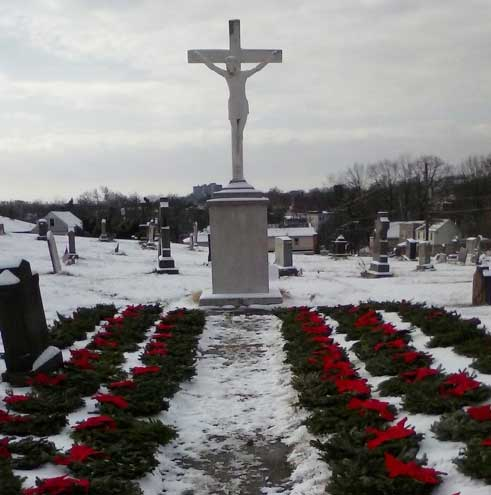 Celebrating Wreaths Across America Day in Belleville