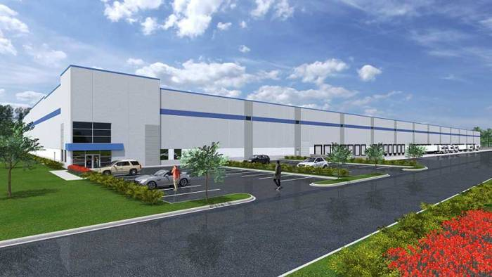 Construction begins on industrial facility in Belleville
