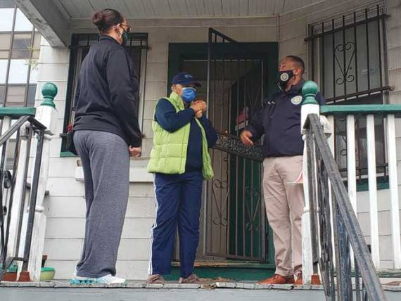 East Orange's Mayor on the Block program visits the 4th Ward