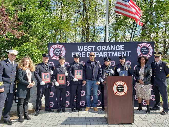 West Orange first responders win 2020 Valor Awards